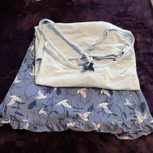 3 piece pajamas